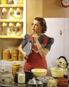 housewife-in-kitchen