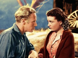 Vivien Leigh and Leslie Howard