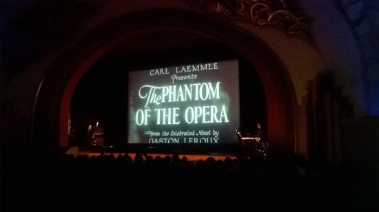 1925's The Phantom of the Opera was painstakingly re assembled from surviving sources and presented in it's original format and edit.